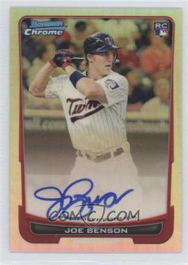 2012 Bowman Chrome Rookie Certified Autographs Refractor [Autographed] #215 - Jose Berrios /500