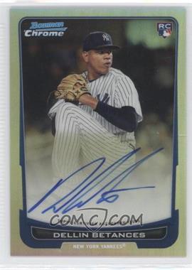 2012 Bowman Chrome Rookie Certified Autographs Refractor [Autographed] #217 - Dellin Betances /500