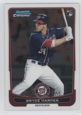 2012 Bowman Chrome #214 - Bryce Harper