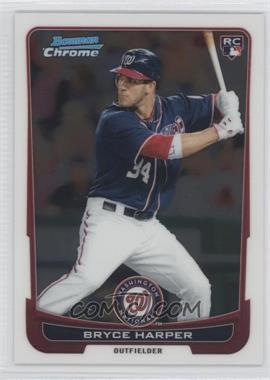 2012 Bowman Chrome #214 - Bryce Harper