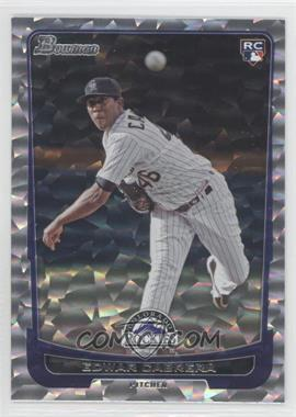 2012 Bowman Draft Picks & Prospects - [Base] - Silver Ice #27 - Edwar Cabrera