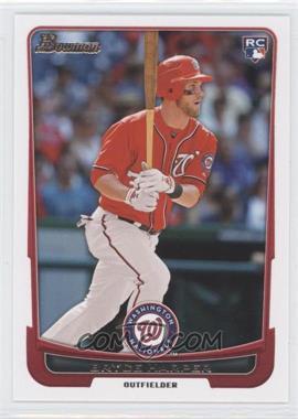 2012 Bowman Draft Picks & Prospects - [Base] #10 - Bryce Harper