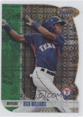 2012 Bowman Draft Picks & Prospects - Bowman's Best - X-Fractor #BB24 - Nick Williams /25