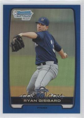 2012 Bowman Draft Picks & Prospects - Chrome Draft Picks - Blue Refractors #BDPP105 - Ryan Gibbard /250