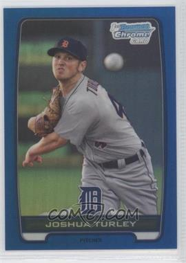 2012 Bowman Draft Picks & Prospects - Chrome Draft Picks - Blue Refractors #BDPP108 - Joshua Turley /250