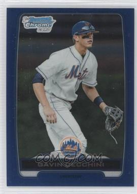 2012 Bowman Draft Picks & Prospects - Chrome Draft Picks - Blue Refractors #BDPP17 - Gavin Cecchini /250