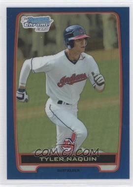 2012 Bowman Draft Picks & Prospects - Chrome Draft Picks - Blue Refractors #BDPP9 - Tyler Naquin /250