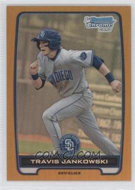 2012 Bowman Draft Picks & Prospects - Chrome Draft Picks - Gold Refractors #BDPP24 - Travis Jankowski /50