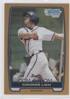 2012 Bowman Draft Picks & Prospects - Chrome Draft Picks - Gold Refractors #BDPP82 - Connor Lien /50