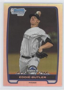 2012 Bowman Draft Picks & Prospects - Chrome Draft Picks - Refractors #BDPP103 - Eddie Butler