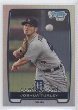 2012 Bowman Draft Picks & Prospects - Chrome Draft Picks - Refractors #BDPP108 - Joshua Turley