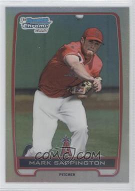 2012 Bowman Draft Picks & Prospects - Chrome Draft Picks - Refractors #BDPP115 - Mark Sappington