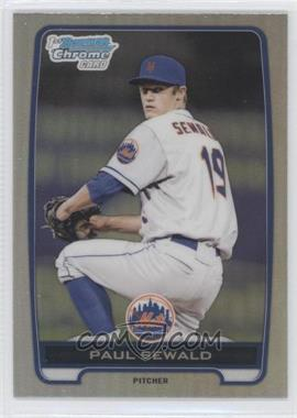 2012 Bowman Draft Picks & Prospects - Chrome Draft Picks - Refractors #BDPP117 - Paul Sewald