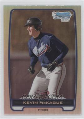 2012 Bowman Draft Picks & Prospects - Chrome Draft Picks - Refractors #BDPP130 - Kevin McKague