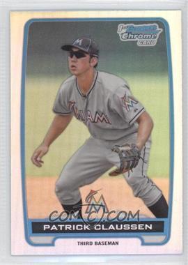 2012 Bowman Draft Picks & Prospects - Chrome Draft Picks - Refractors #BDPP156 - Patrick Claussen