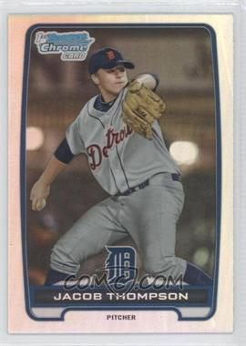 2012 Bowman Draft Picks & Prospects - Chrome Draft Picks - Refractors #BDPP38 - Jacob Thompson