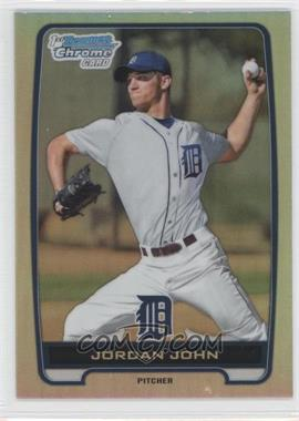 2012 Bowman Draft Picks & Prospects - Chrome Draft Picks - Refractors #BDPP62 - Jordan John