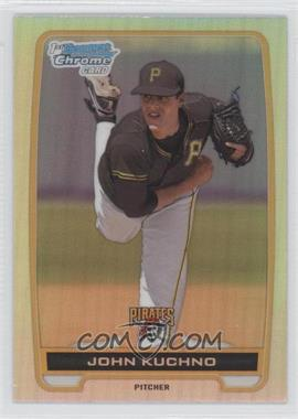 2012 Bowman Draft Picks & Prospects - Chrome Draft Picks - Refractors #BDPP78 - John Kuchno