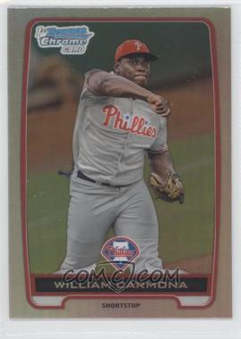 2012 Bowman Draft Picks & Prospects - Chrome Draft Picks - Refractors #BDPP80 - William Carmona