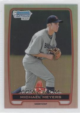 2012 Bowman Draft Picks & Prospects - Chrome Draft Picks - Refractors #BDPP83 - Michael Meyers