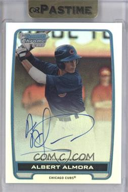 2012 Bowman Draft Picks & Prospects - Chrome Draft Picks Certified Autographs - Refractor [Autographed] #BCA-AA - Albert Almora