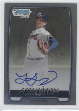 2012 Bowman Draft Picks & Prospects - Chrome Draft Picks Certified Autographs - Refractor [Autographed] #BCA-LS - Lucas Sims