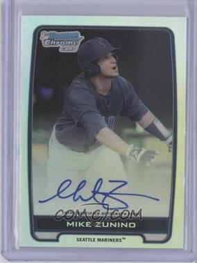 2012 Bowman Draft Picks & Prospects - Chrome Draft Picks Certified Autographs - Refractor [Autographed] #BCA-MZ - Mike Zunino