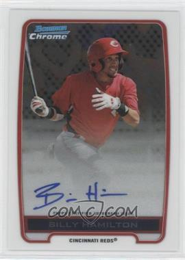 2012 Bowman Draft Picks & Prospects - Chrome Prospects Certified Autographs - [Autographed] #BCA-BH - Billy Hamilton
