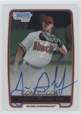 2012 Bowman Draft Picks & Prospects - Chrome Prospects Certified Autographs - [Autographed] #BCA-JG - Jonathan Griffin