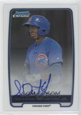 2012 Bowman Draft Picks & Prospects - Chrome Prospects Certified Autographs - [Autographed] #BCA-SD - Shawon Dunston Jr.