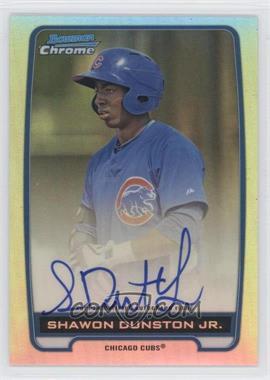 2012 Bowman Draft Picks & Prospects - Chrome Prospects Certified Autographs - Refractor #BCA-SD - Shawon Dunston Jr. /500