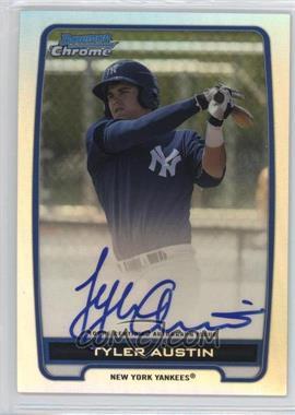 2012 Bowman Draft Picks & Prospects - Chrome Prospects Certified Autographs - Refractor #BCA-TA - Tyler Austin /500