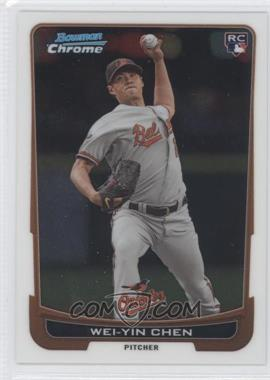 2012 Bowman Draft Picks & Prospects - Chrome #45 - Wei-Yin Chen