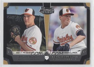 2012 Bowman Draft Picks & Prospects - Dual Top 10 Picks #TP-BG - Dylan Bundy, Kevin Gausman