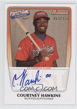 2012 Bowman Draft Picks & Prospects - Perfect Game All-American Autograph - [Autographed] #AAC-CHA - Courtney Hawkins /233