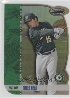 2012 Bowman Draft Picks & Prospects Bowman's Best Refractor #BB34 - Miles Head /99