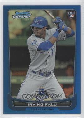 2012 Bowman Draft Picks & Prospects Chrome Blue Refractor #26 - Irving Falu /250