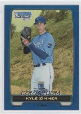 2012 Bowman Draft Picks & Prospects Chrome Draft Picks Blue Refractors #BDPP10 - Kyle Zimmer /250
