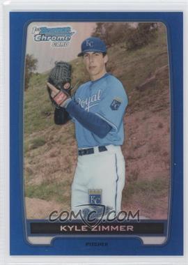 2012 Bowman Draft Picks & Prospects Chrome Draft Picks Blue Refractors #BDPP10 - Kyle Zimmer /250