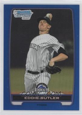 2012 Bowman Draft Picks & Prospects Chrome Draft Picks Blue Refractors #BDPP103 - Eddie Butler /250