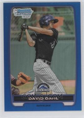 2012 Bowman Draft Picks & Prospects Chrome Draft Picks Blue Refractors #BDPP104 - David Dahl /250