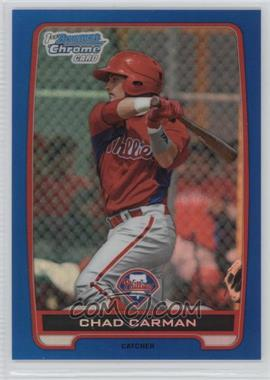 2012 Bowman Draft Picks & Prospects Chrome Draft Picks Blue Refractors #BDPP144 - Chad Carman /250