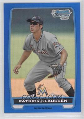 2012 Bowman Draft Picks & Prospects Chrome Draft Picks Blue Refractors #BDPP156 - Patrick Claussen /250