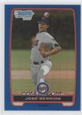 2012 Bowman Draft Picks & Prospects Chrome Draft Picks Blue Refractors #BDPP16 - Jose Berrios /250