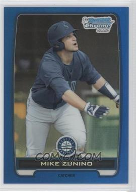 2012 Bowman Draft Picks & Prospects Chrome Draft Picks Blue Refractors #BDPP25 - Mike Zunino /250