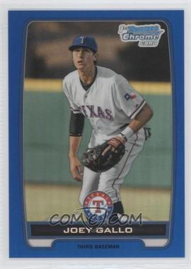 2012 Bowman Draft Picks & Prospects Chrome Draft Picks Blue Refractors #BDPP32 - Joey Gallo /250