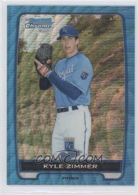 2012 Bowman Draft Picks & Prospects Chrome Draft Picks Blue Wave Refractors #BDPP10 - Kyle Zimmer