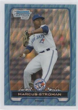 2012 Bowman Draft Picks & Prospects Chrome Draft Picks Blue Wave Refractors #BDPP35 - Marcus Stroman