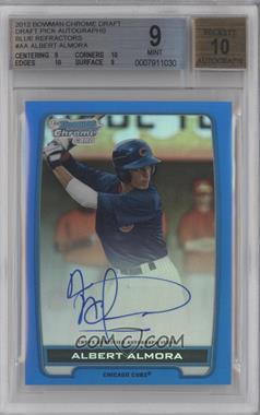 2012 Bowman Draft Picks & Prospects Chrome Draft Picks Certified Autographs Blue Refractor #BCA-AA - Albert Almora /150 [BGS 9]