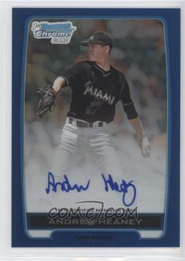 2012 Bowman Draft Picks & Prospects Chrome Draft Picks Certified Autographs Blue Refractor #BCA-AH - Andrew Heaney /150